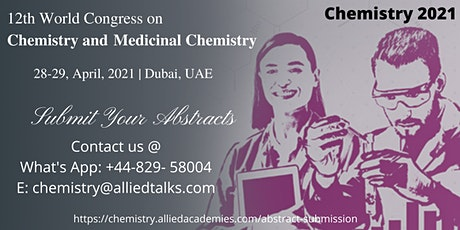 12th World Congress on Chemistry and Medicinal Chemistry tickets