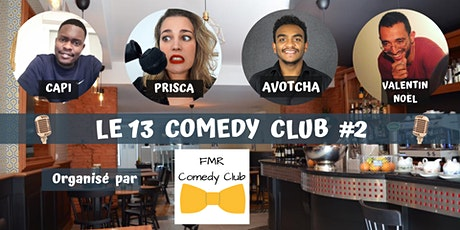 LE 13 COMEDY CLUB #2 billets