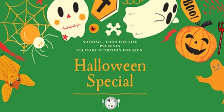 Culinary Nutrition for Kids' Halloween Special tickets