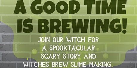 Spooktacular Halloween Story With Slime Making tickets