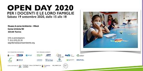 Open Day 2020 biglietti