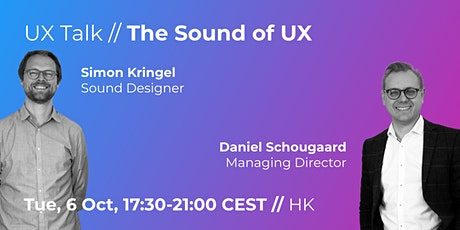 UX Talk // The Sound of UX // PHYSICAL EVENT tickets