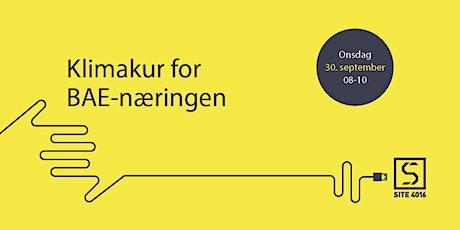 On-site frokostmøte - Klimakur for BAE-næringen tickets