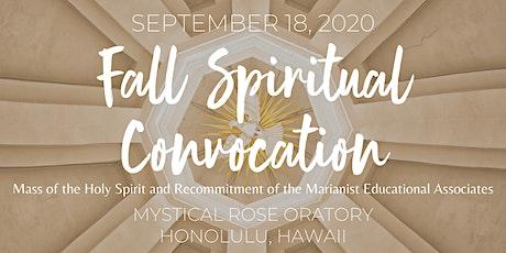 Fall Spiritual Convocation 2020 tickets