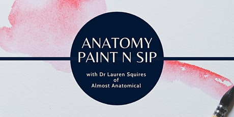 Anatomy Art Paint 'n Sip - Anatomical Brain tickets
