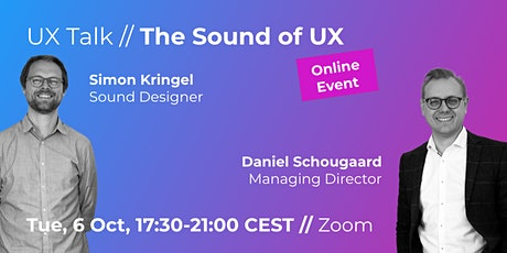 UX Talk // The Sound of UX // ONLINE EVENT tickets