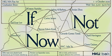 If Not Now - Preview & Performance Program tickets