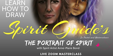 Masterclass Drawing Spirit Guides with Pastel and Watercolor tickets