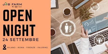 Job Farm - Open Night Master in Risorse Umane biglietti