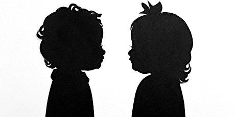 Wee Chic, Hosting Silhouette Artist Erik Johnson  $30 Silhouettes tickets