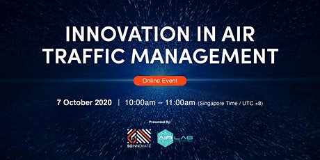 Innovation in Air Traffic Management [Online Event] tickets