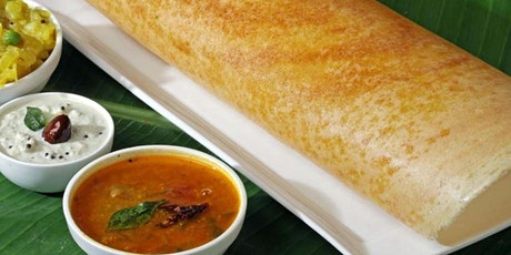 Indian Vegetarian Food Cooking Class - Dosa Feast tickets