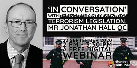 'In conversation' with Jonathan Hall QC tickets