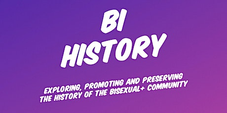 Bi Visibility Day with Bi History tickets