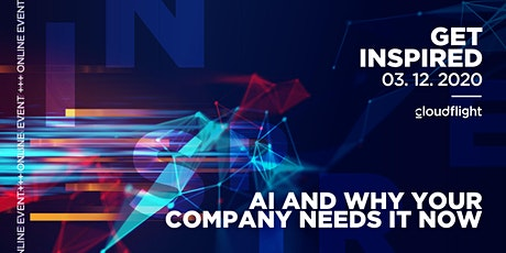 Get Inspired by Cloudflight - AI & why your company needs it now Vol. 3 tickets