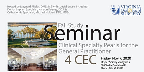 Fall Study: Clinical Specialty Pearls for the General Practitioner tickets