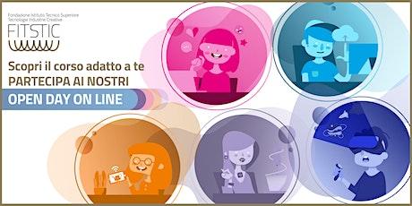 OPEN DAY ONLINE - Sviluppo software web e cloud biglietti