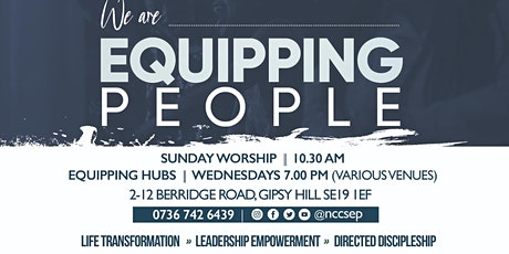 Sunday Worship @ Equipping People tickets