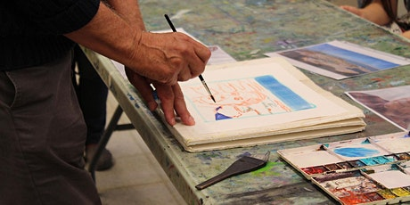 Watercolour Landscape Sketching with John Hartman tickets