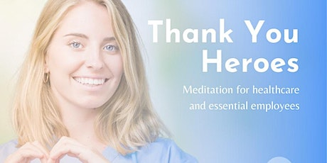 Free, Guided online meditation - Essential Workers tickets