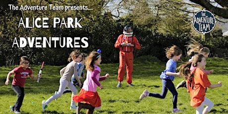 Alice Park Adventures! tickets