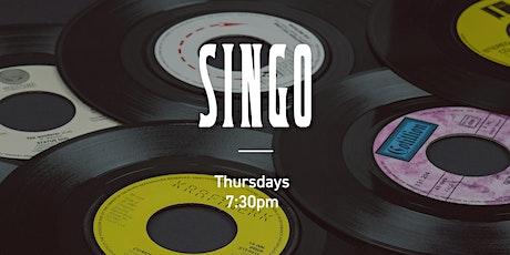 S I  N G O! Musical Bingo tickets