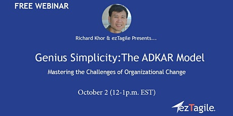 The ADKAR Model  | Mastering the Challenges of Organizational Change ​ tickets