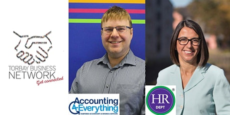 (NEW VENUE) Torbay Business Network  present James Twigger & Helena White tickets