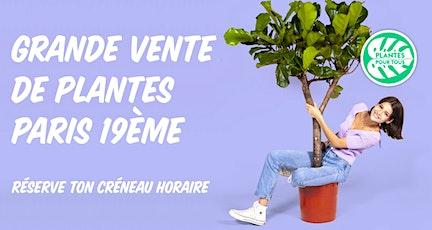 Grande Vente de Plantes - Paris 19 ème billets