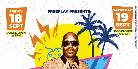 FreePlay Presents REWIND ft. Choclair! tickets