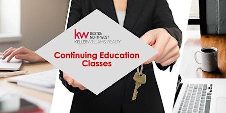 Massachusetts Continuing Education Class: Fair Housing (Afternoon Class) tickets
