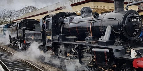 Vintage Steam Train Journey tickets