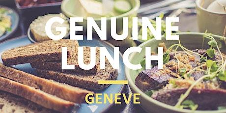 Lunch Genève - la confiance en soi (GENUINE ONLY) billets