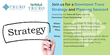 Downtown Truro Strategy Session tickets