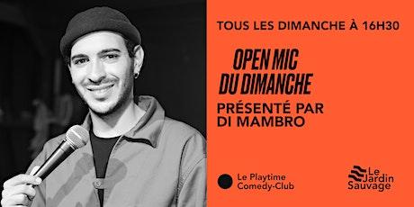 Open Mic du Dimanche tickets