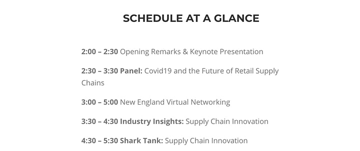 Supply Chain Innovation - CONFERENCE image
