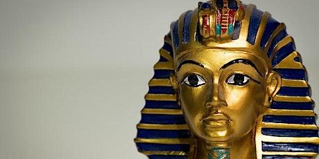 Tutankamón: el faraón maldito. entradas