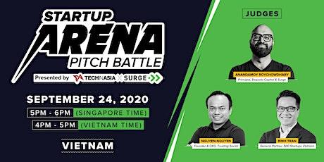 [Free] Vietnam - Startup Arena Pitch Battle Semifinals tickets