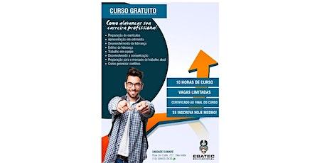 Como alavancar sua carreira profissional - CURSO GRATUITO! ingressos