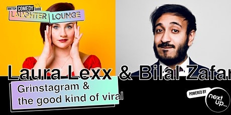 Grinstagram & The Good Kind of Viral // The BCG Laughter Lounge Festival tickets