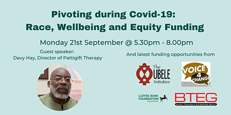 Pivoting during Covid-19: Race, Wellbeing and Equi tickets