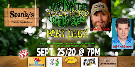 The Ultimate Backyard Comedy Show: Part 2 tickets