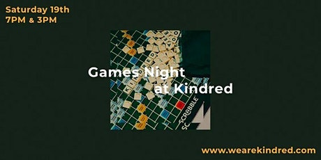 Kindred's Games Night tickets