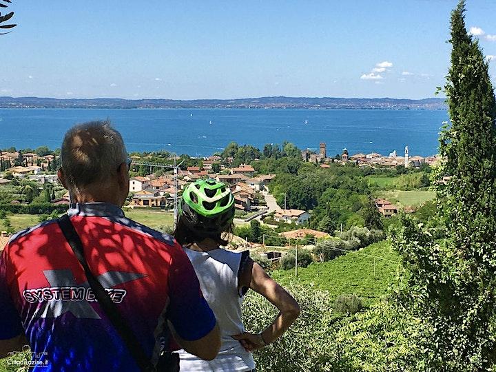 Immagine Tour in bici  a Lazise con degustazione in cantina