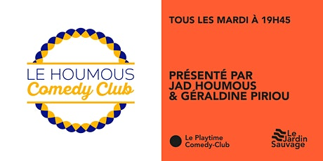 Le Houmous Comedy Club tickets