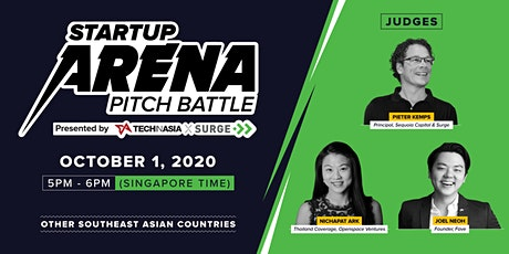 [Free] Other SEA countries - Startup Arena Pitch Battle Semifinals tickets