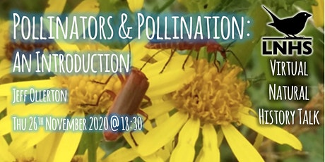 Pollinators and Pollination: An Introduction by Jeff Ollerton tickets