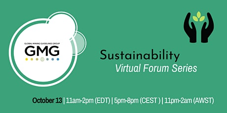 GMG Virtual Forum: Sustainability tickets