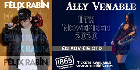 Ally Venable + Felix Rabin | The 1865 tickets