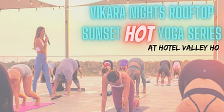 Skyline Rooftop HOT Yoga Series tickets